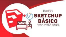 SketchUP +  Vray 3.6 p/Interiores - Básico
