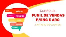 Funil de Vendas p/Eng e Arq CAPTAÇÃO DE CLIENTES