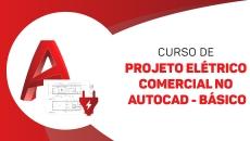 Projeto Elétrico Comercial no AUTOCAD - básico
